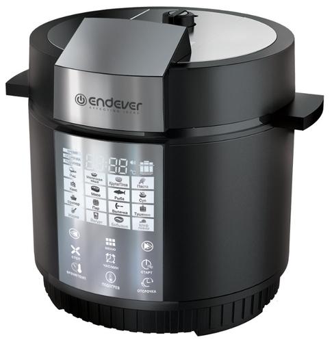 Мультиварка-скороварка Endever Vita 110 черный/сталь