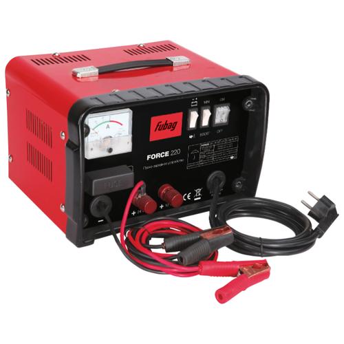 Пуско-зарядное устройство Fubag Force 220 красный/черный пуско зарядное устройство fubag force 180 красный черный