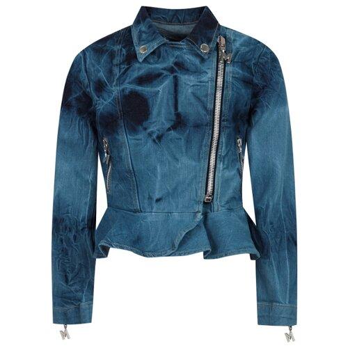 Купить Куртка MSGM 022101 размер 164, 126 синий, Куртки и пуховики