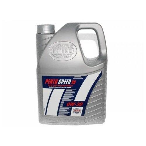 Синтетическое моторное масло Pentosin Pentospeed VS 0W-30, 5 л
