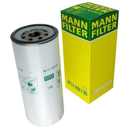 Масляный фильтр MANNFILTER W11102/35