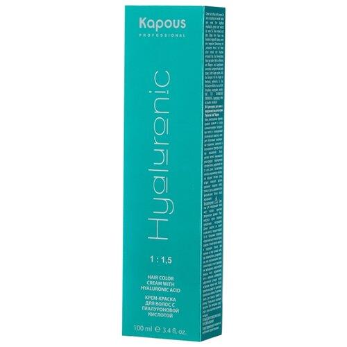 Kapous Professional Hyaluronic Acid Крем-краска для волос с гиалуроновой кислотой, 100 мл, 9.23 Очень светлый блондин перламутровый kapous professional hyaluronic acid крем краска для волос с гиалуроновой кислотой 100 мл 7 43 блондин медный золотистый