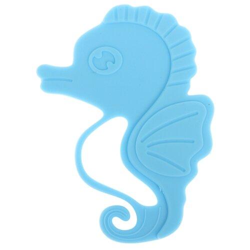 Купить Прорезыватель Крошка Я Морской конёк голубой, Погремушки и прорезыватели