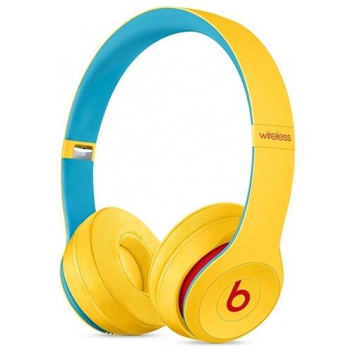 Беспроводные наушники Beats Solo3 Wireless желтый цена 2017