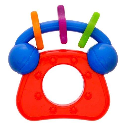 Купить Погремушка Крошка Я Алло-алло 2656020 красный/синий, Погремушки и прорезыватели