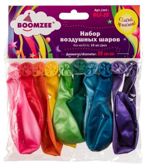 Набор воздушных шаров BOOMZEE BLS-25 Металлик (10 шт.)