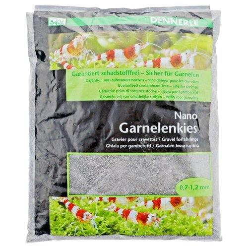 Грунт Dennerle Nano Garnelenkies (Nano Shrimps Gravel Bed), 2 кг arkansas grey