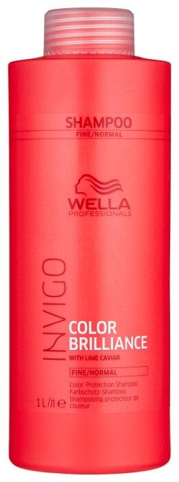 Wella Professionals шампунь Invigo Color Brilliance для нормальных и тонких волос