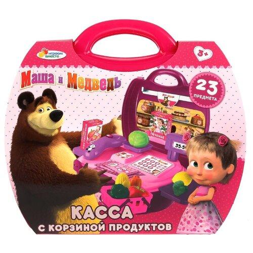 Купить Касса Играем вместе Маша и Медведь (B1459675-R), Играем в магазин