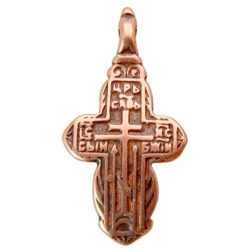 Мастерская Алёшиных Крест Царь славы №2, медь