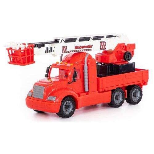 Пожарный автомобиль Wader Майк (в сетке) (58553) красный машины wader базик автомобиль пожарный