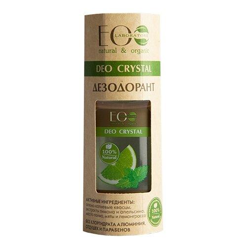 ECO Laboratorie дезодорант, ролик, Deo Crystal Лимон и апельсин, 50 мл