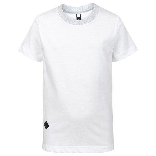 Купить Футболка Nota Bene размер 128, белый, Футболки и топы