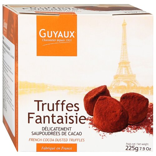 Набор конфет Guyaux Truffes Fantaisie традиционные 225 г