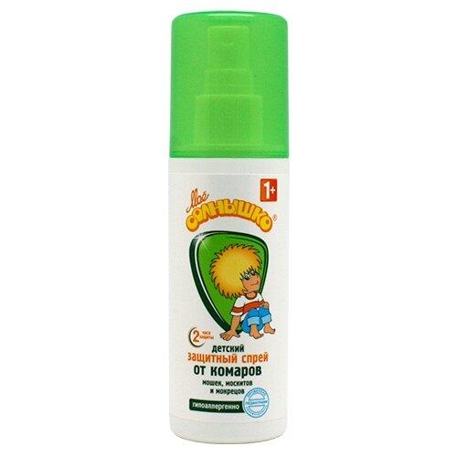 Спрей Моё солнышко от комаров 100 мл моё солнышко защитный спрей от комаров моё солнышко