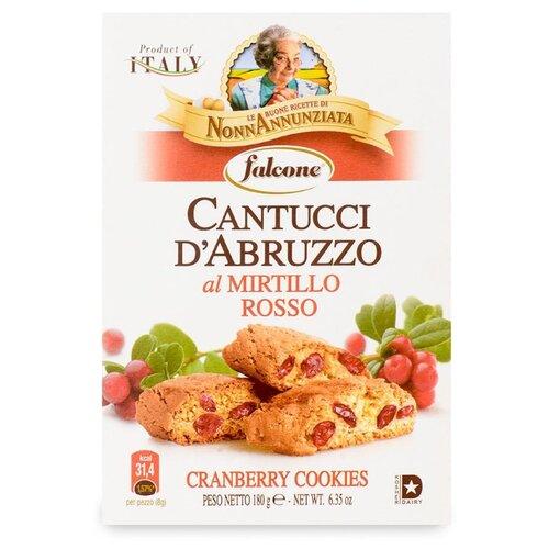 Печенье FALCONE Cantucci D'Abruzzo с клюквой 180 г