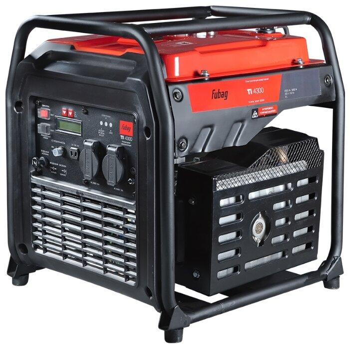 Бензиновый генератор Fubag TI 4300 (3800 Вт)