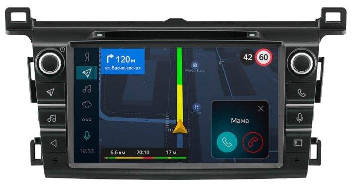 Бортовой компьютер Яндекс.Авто для Toyota Rav 4 (с 2012 года)