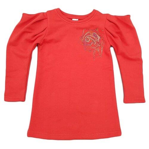 Платье ЁМАЁ размер 122, красный платье oodji ultra цвет красный белый 14001071 13 46148 4512s размер xs 42 170