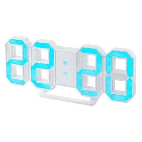 цена Термометр Perfeo LUMINOUS (PF-663) белый/синий онлайн в 2017 году