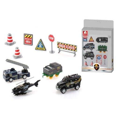 цена S+S Toys Полиция 101020292 желтый/синий/зеленый/красный/серый/черный онлайн в 2017 году