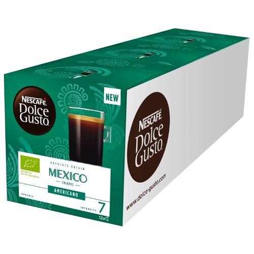 Кофе в капсулах Nescafe Dolce Gusto Mexico Americano (36 капс.), без кофеина кофе в капсулах nescafe dolce gusto mexico americano 12 капс