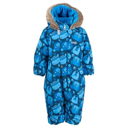 Купить Комбинезон KERRY ZOO K19406 размер 68, 6350 синий, Теплые комбинезоны