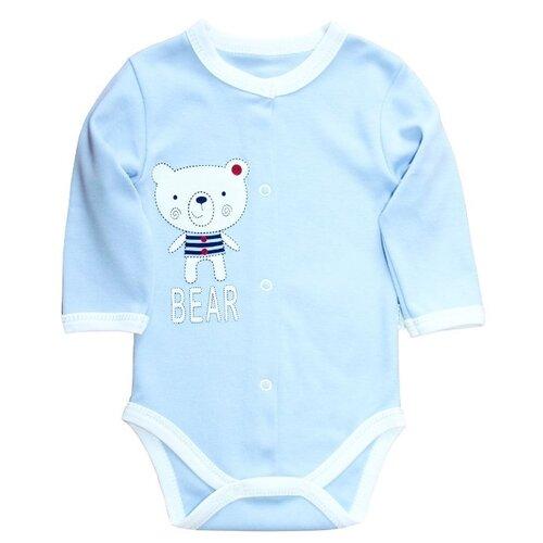 штанишки для мальчика веселый малыш one цвет голубой 33150 one c 1 размер 68 Боди Веселый Малыш размер 68, голубой