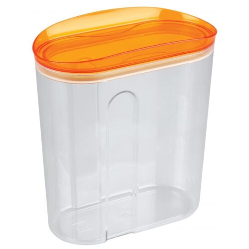 цена на Phibo Емкость для сыпучих продуктов Master safe (1.5 л) оранжевый/прозрачный