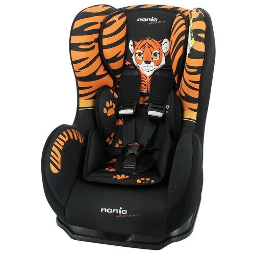 Автокресло группа 0/1 (до 18 кг) Nania Cosmo SP Animals, tiger автокресло группа 0 1 до 18 кг nania driver animals zebra 2020