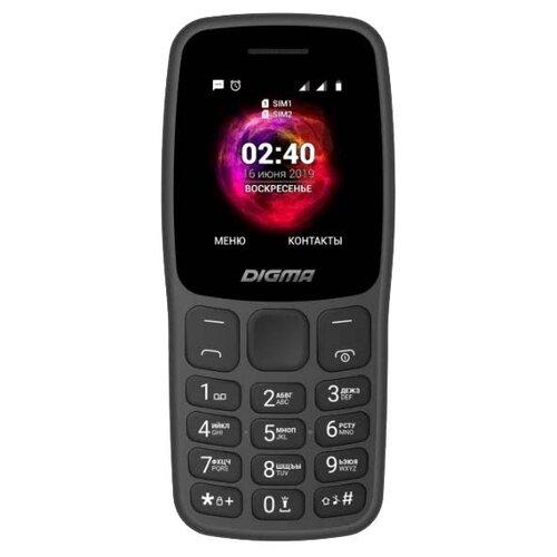 Телефон DIGMA LINX C170 графит телефон