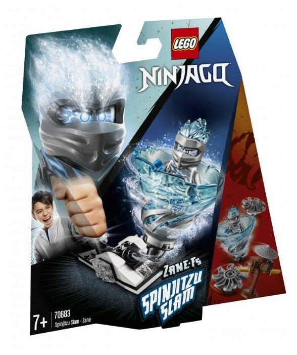 Конструктор LEGO Ninjago 70683 Бой мастеров кружитцу — Зейн