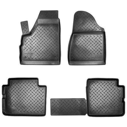 Комплект ковриков NorPlast NPL-Po-94-24 4 шт. черный