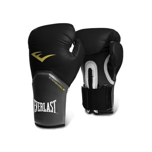 Боксерские перчатки Everlast Pro style elite черный 8 oz
