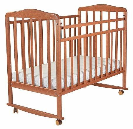 Кроватка СКВ-Компани 16011x Митенька (качалка)
