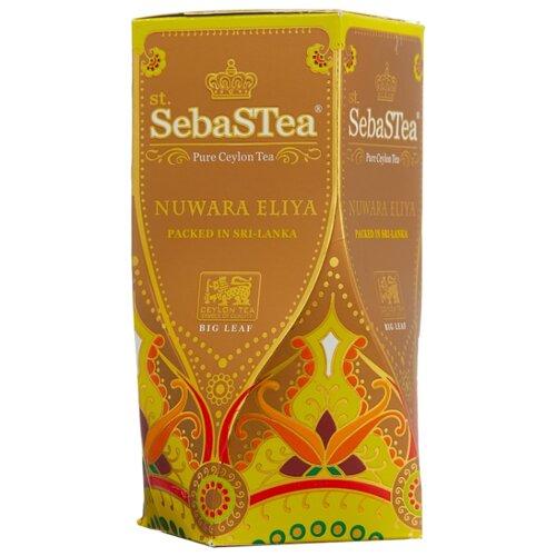 Чай черный SebaSTea Nuwara eliya, 100 г чай листовой зеленый sebastea chinesse dragon 100 г