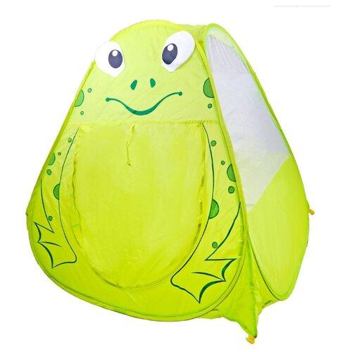 Купить Палатка Yongjia Toys Лягушонок 889-166A зеленый, Игровые домики и палатки