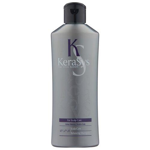 KeraSys шампунь Balancing Scalp Care Лечение кожи головы 180 мл