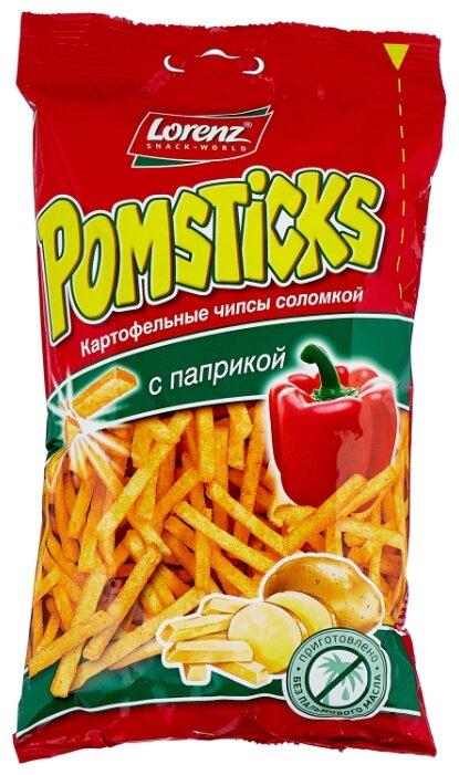Картофельная соломка Lorenz Pomsticks с паприкой 100 г