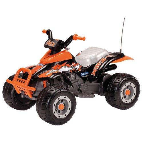 Купить Peg-Perego Квадроцикл Corral T-Rex оранжевый/черный, Электромобили