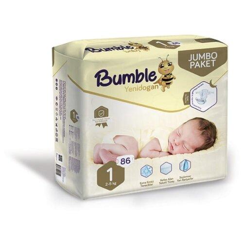 Bumble Baby подгузники 1 (2-5 кг) 86 шт.