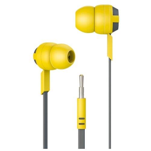 Наушники Code HPM601, yellow/grey