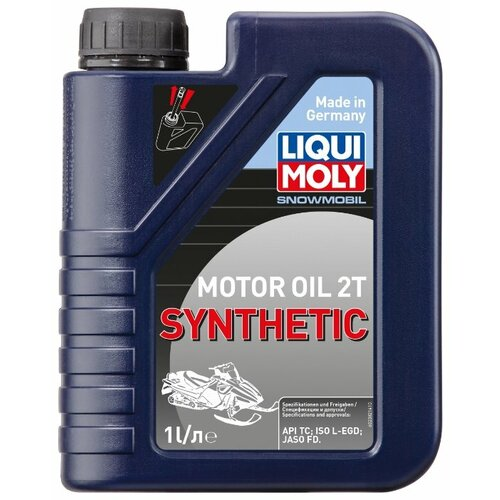 Моторное масло LIQUI MOLY Snowmobil Motoroil 2T Synthetic 1 л