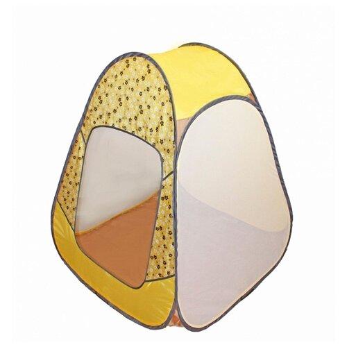 Фото - Палатка Belon familia ПИ-004-КМ-ТФ-ЦЖ Конусная Цветы желтый кольцо vg 0100809218585 тф