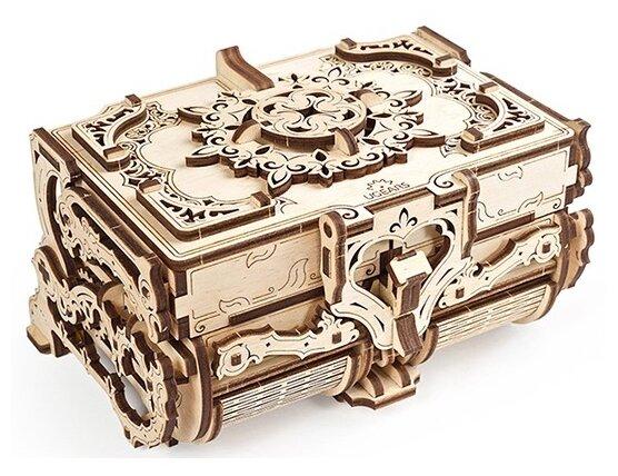 Сборная модель Антикварная шкатулка UGEARS