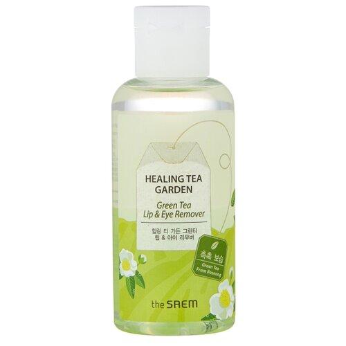 The Saem средство для снятия макияжа с глаз и губ с зеленым чаем Healing Tea Garden, 150 мл увлажняющий лосьон для мужчин с коллагеном и зеленым чаем 150 мл lebelage