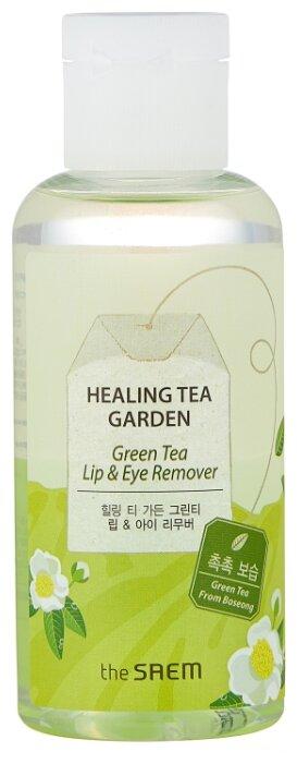 The Saem средство для снятия макияжа с глаз и губ с зеленым чаем Healing Tea Garden