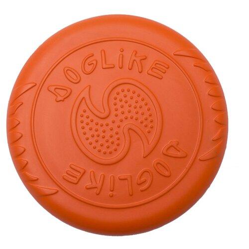 Фрисби для собак Doglike Летающая тарелка малая оранжевый
