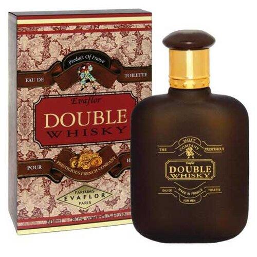 Туалетная вода Evaflor Double Whisky Homme, 80 мл  - Купить