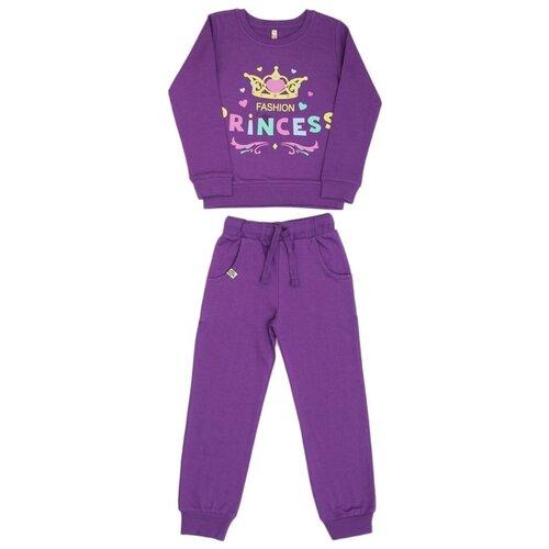 Купить Спортивный костюм MisterBanana размер 98-104, фиолетовый, Спортивные костюмы